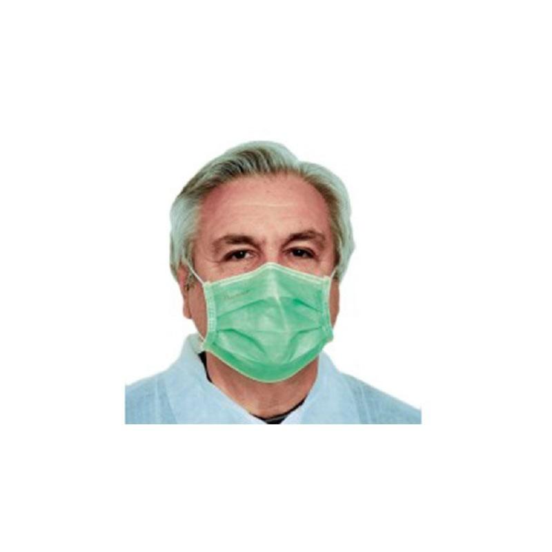 Optez pour Boîte de 50 masques de protection Verts à ...