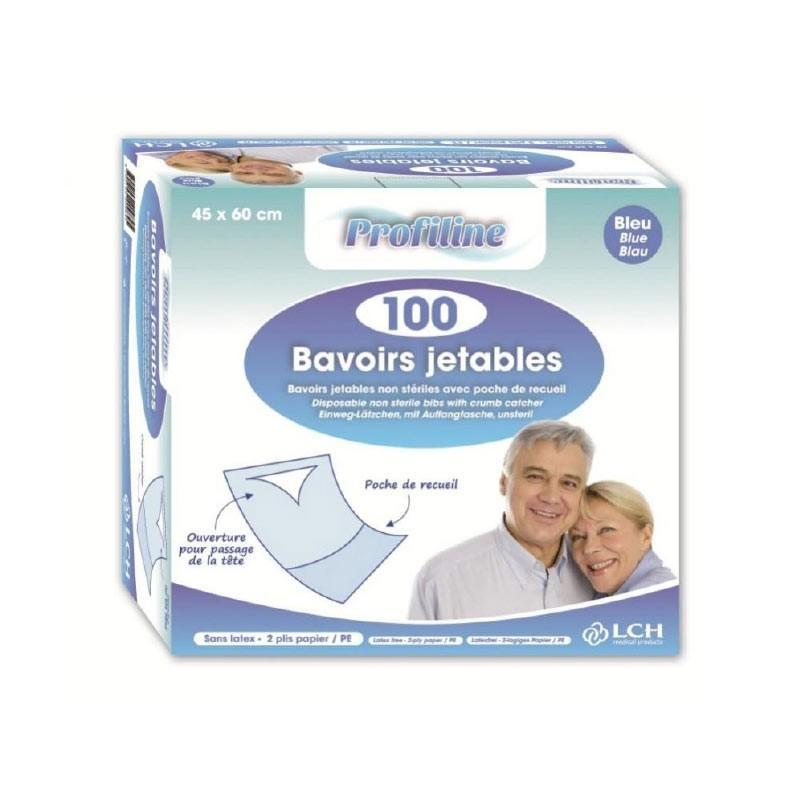 Dès 8,70€ - Optez pour Bavoirs à usage unique avec poche en papier...