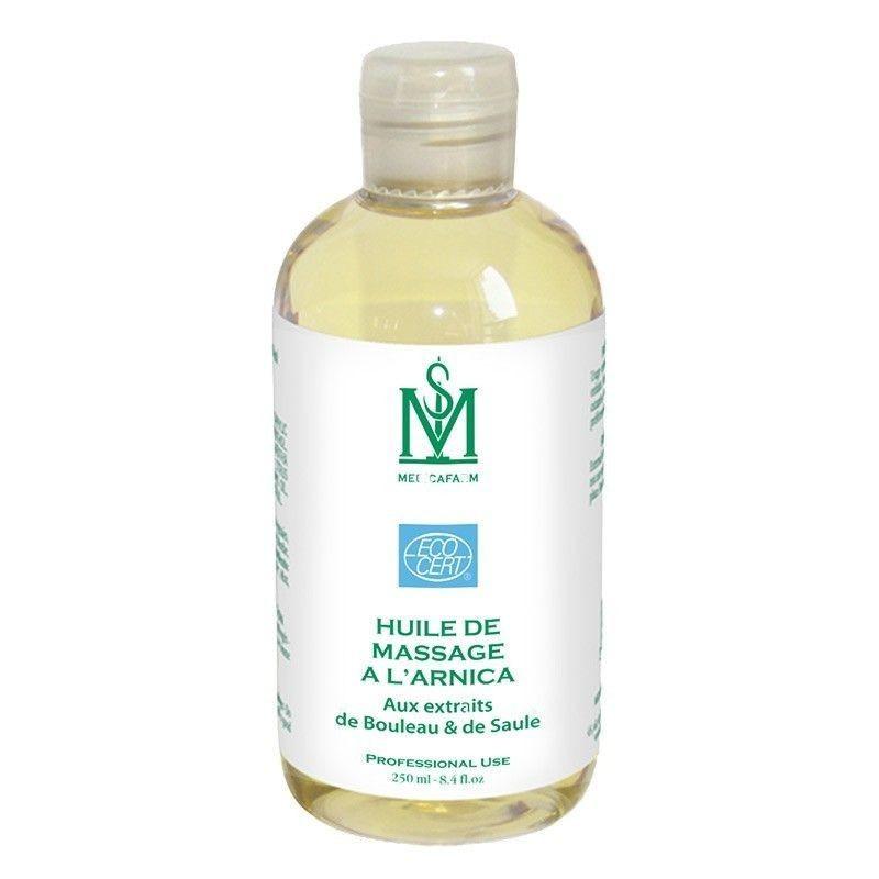 "Huile de massage à l'Arnica Bio ""Effet Froid"" MEDICAFARM - 250 ml"