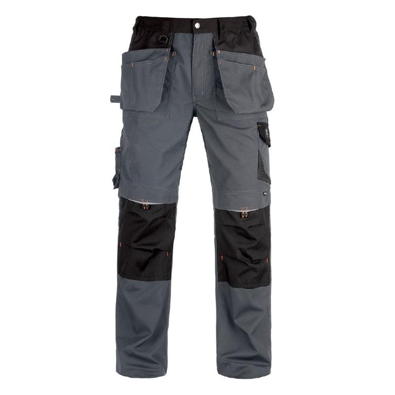 Pantalon de travail multipoches VITTORIA PRO - gris/noir