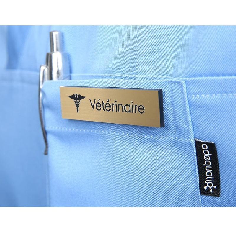 """Badge magnétique de Vétérinaire """"Or"""""""