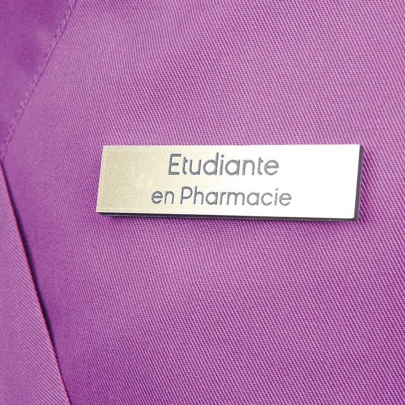 """Badge magnétique d'étudiante / étudiant en Pharmacie """"Or"""""""