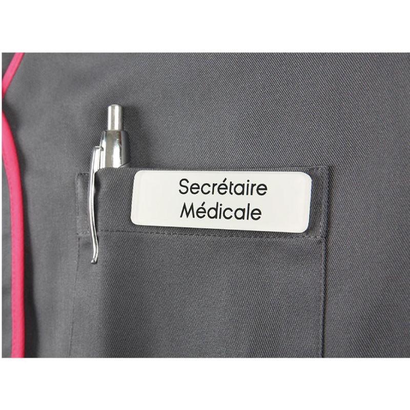 Badge magnétique de Secrétaire médicale