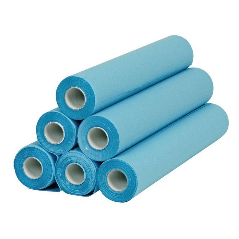 Dès 41,90€ - Optez pour Draps d'examen bleu plastifié PURPULP (x6)...