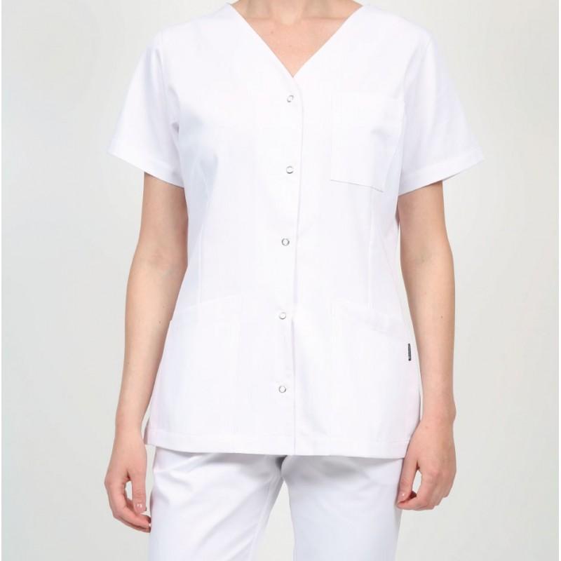 Blouse ouverture simple à pressions Vêtement professionnel de santé