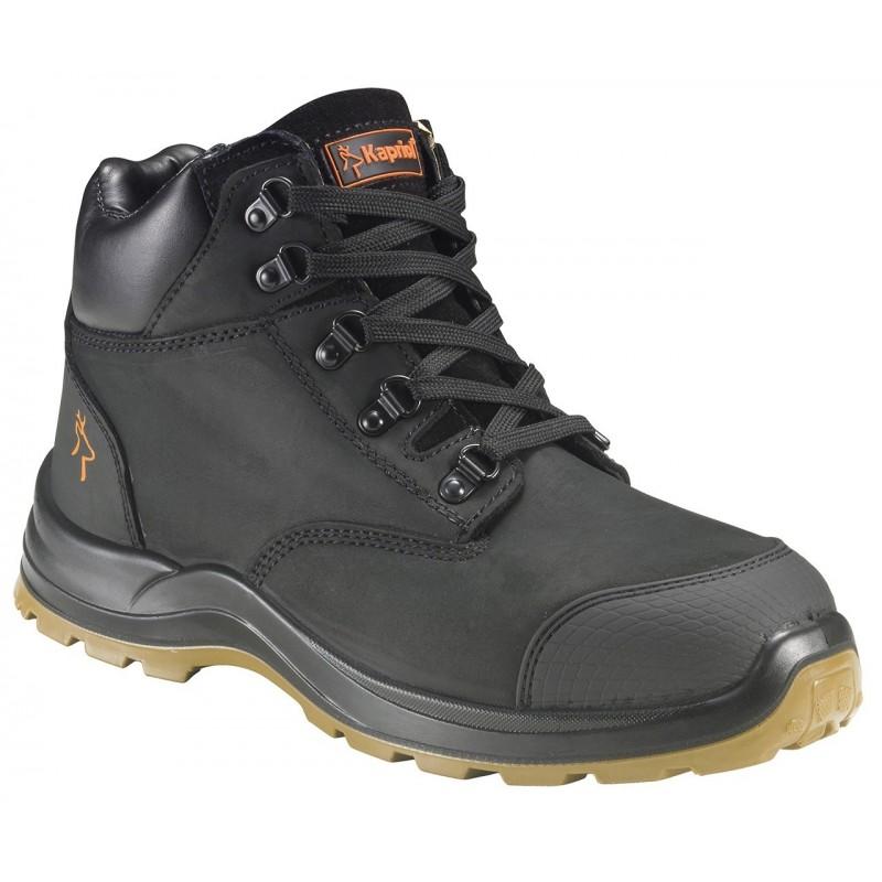 Chaussures de sécurité S3 SRC hautes PROFIL noire