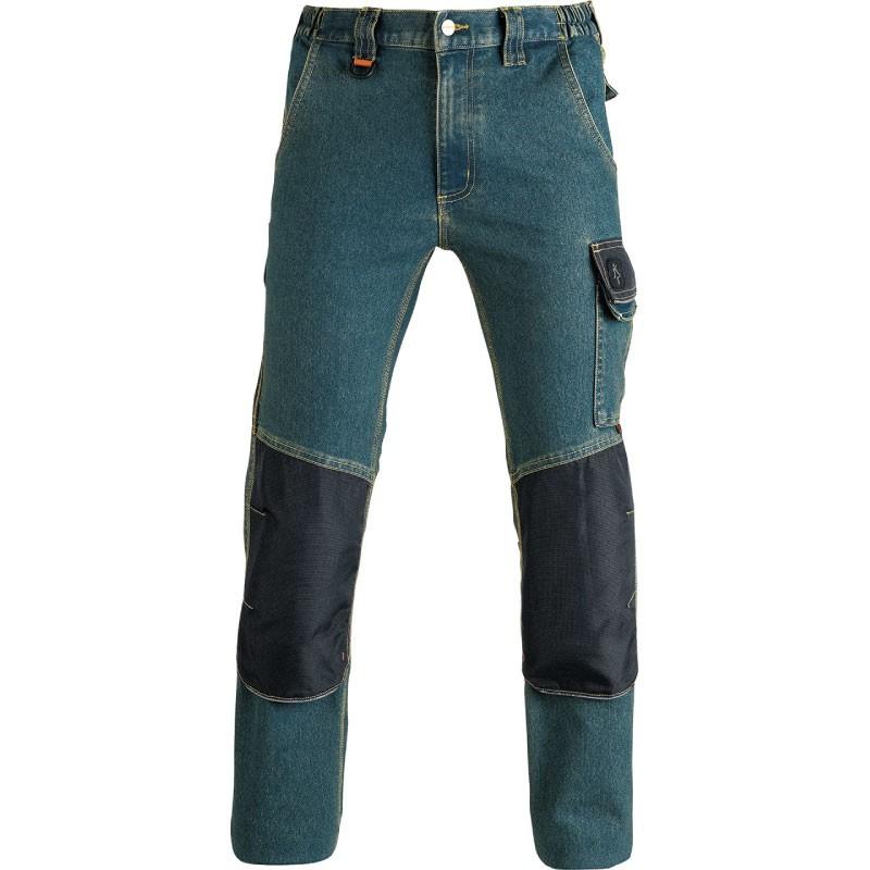 Pantalon de travail denim/noir