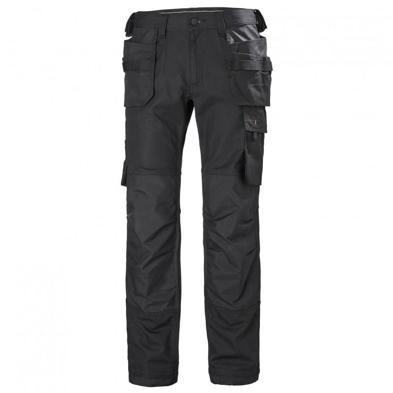 Pantalon multipoches OXFORD CONSTRUCTION noir