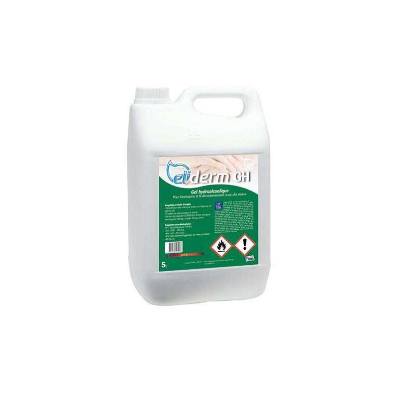 Optez pour Gel hydroalcoolique 5 L ELIDERM - Adequatio