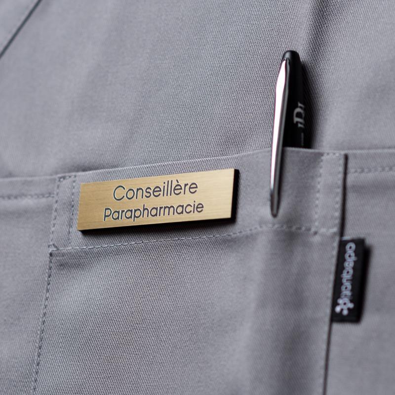 Badge magnétique de conseillère parapharmacie - Or