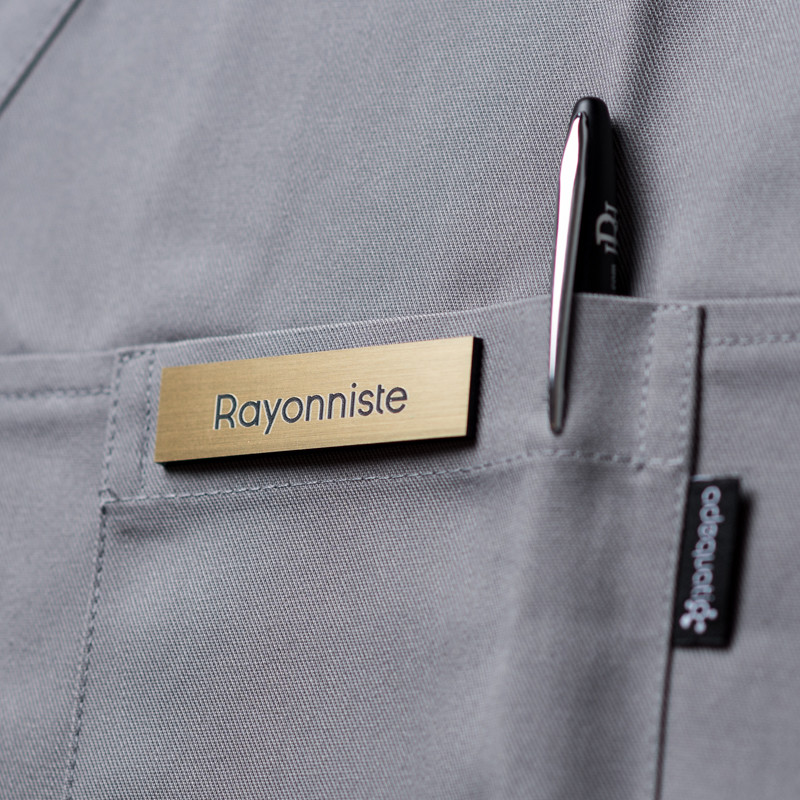 Badge magnétique de rayonniste - Or