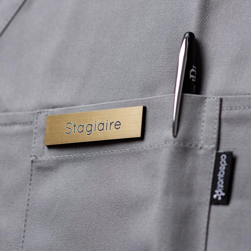 Badge magnétique de stagiaire - Or