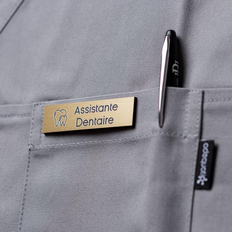 Badge magnétique Assistante Dentaire - Or