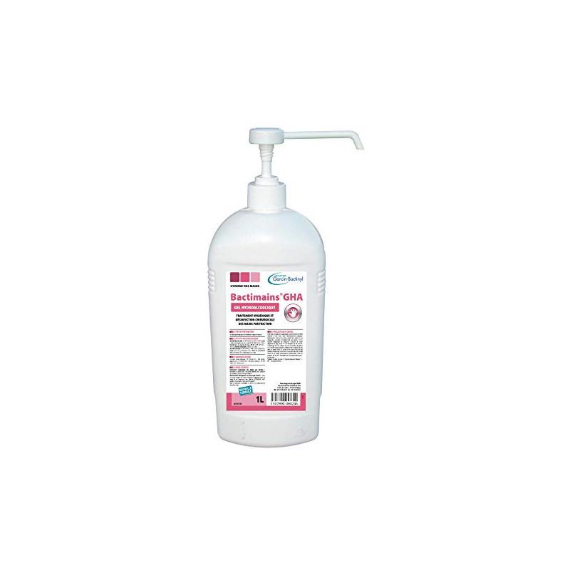 Gel hydroalcoolique virucide Bactimains GHA - 1 L