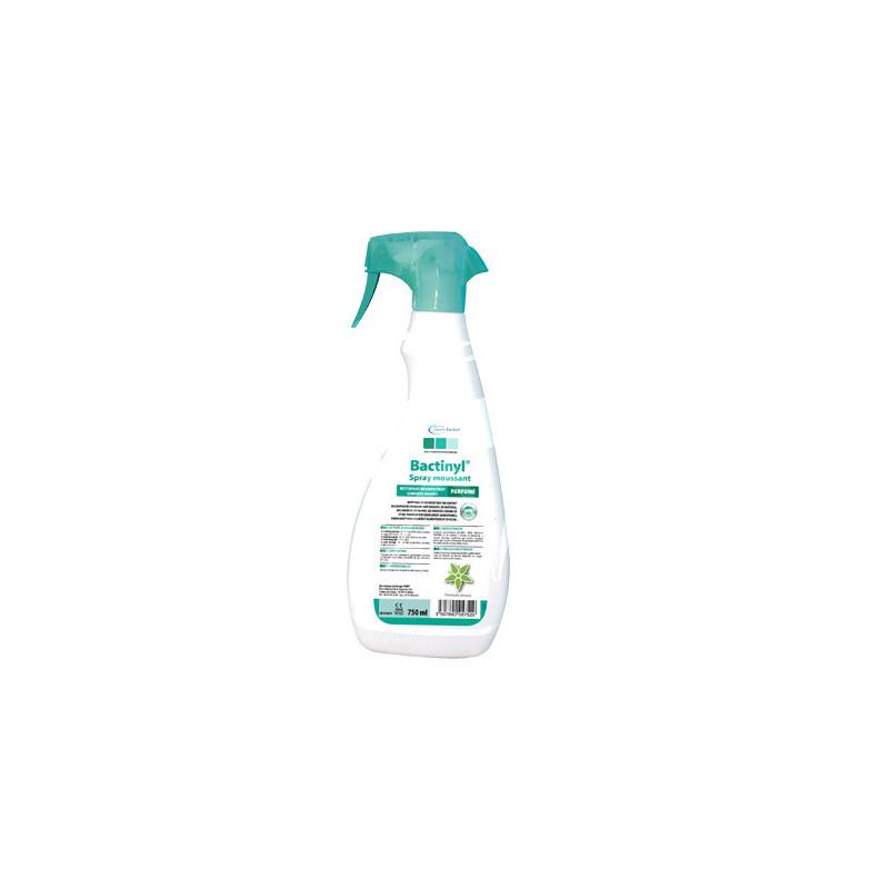 Nettoyant Désinfectant BACTINYL sans alcool mains & surfaces - carton de 6 flacons de 750 ml