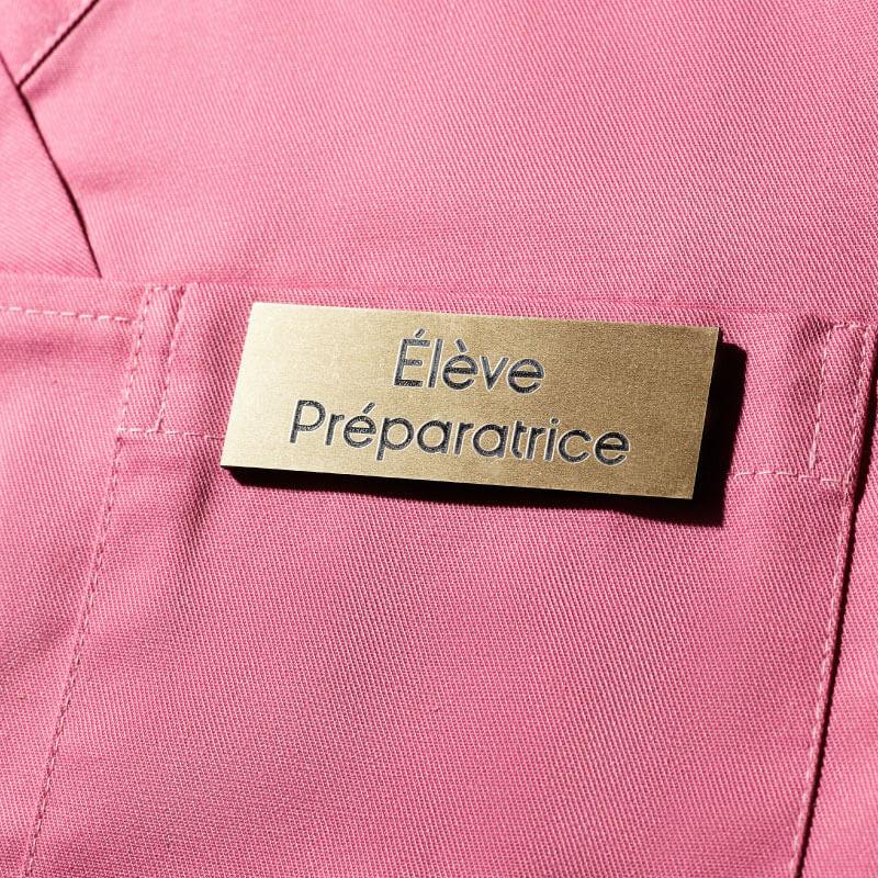 Badge Magnétique | Badge Elève Préparateur ou Préparatrice Or | Express 24H