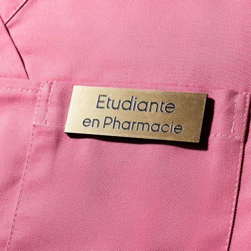 Badge Or | Badge Etudiant ou Etudiante en Pharmacie | Express 24h