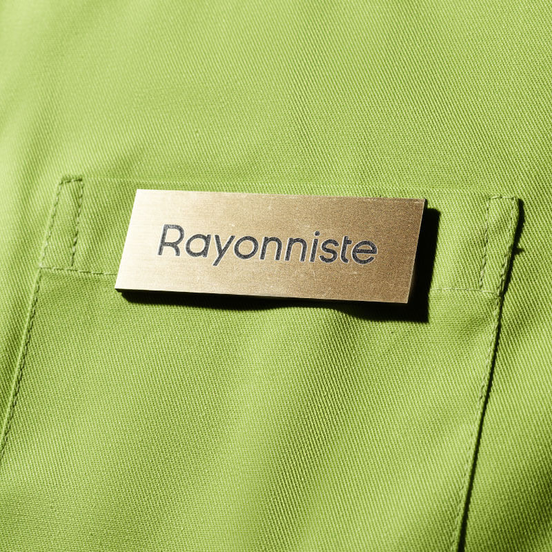 Badge Magnétique | Badge Rayonniste Or | Express 24H