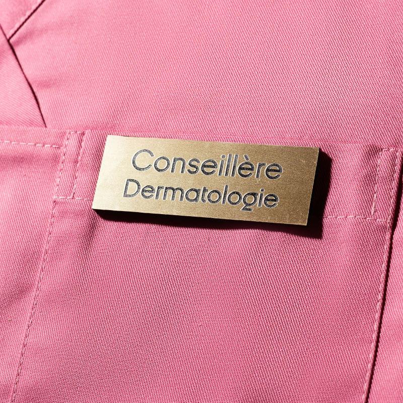 Badge Aimanté | Badge Conseillère Dermatologie Or | Express 24H