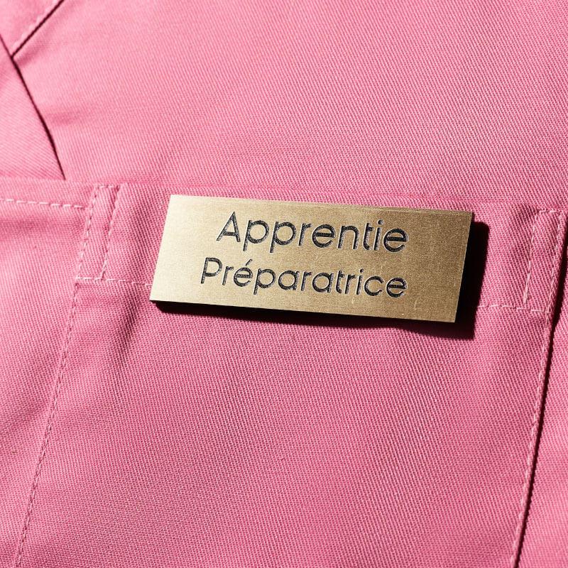 Badge Or   Badge Magnétique Apprentie Préparatrice ou Apprenti Préparateur   Express 24h