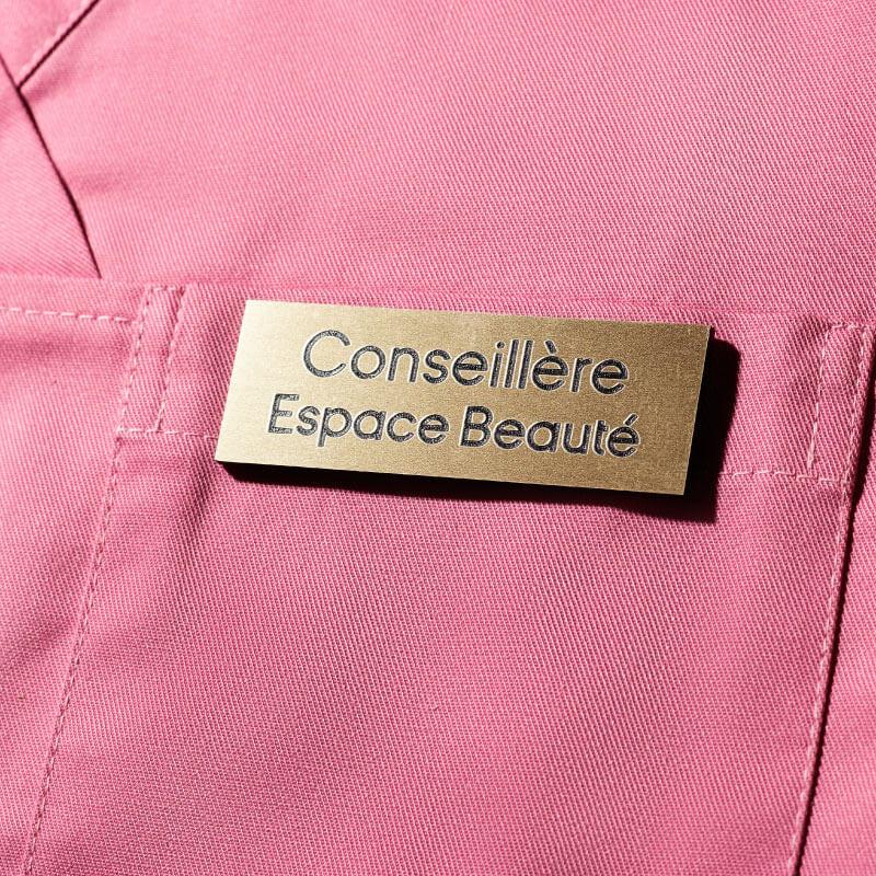 Badge Magnétique   Badge Conseillère Espace Beauté Or   Express 24H