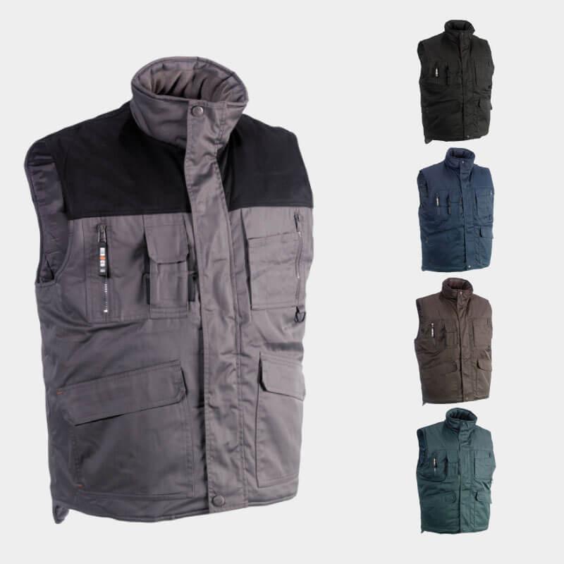 Gilet de travail DONAR HEROCK   Vêtement de travail hiver sans manche