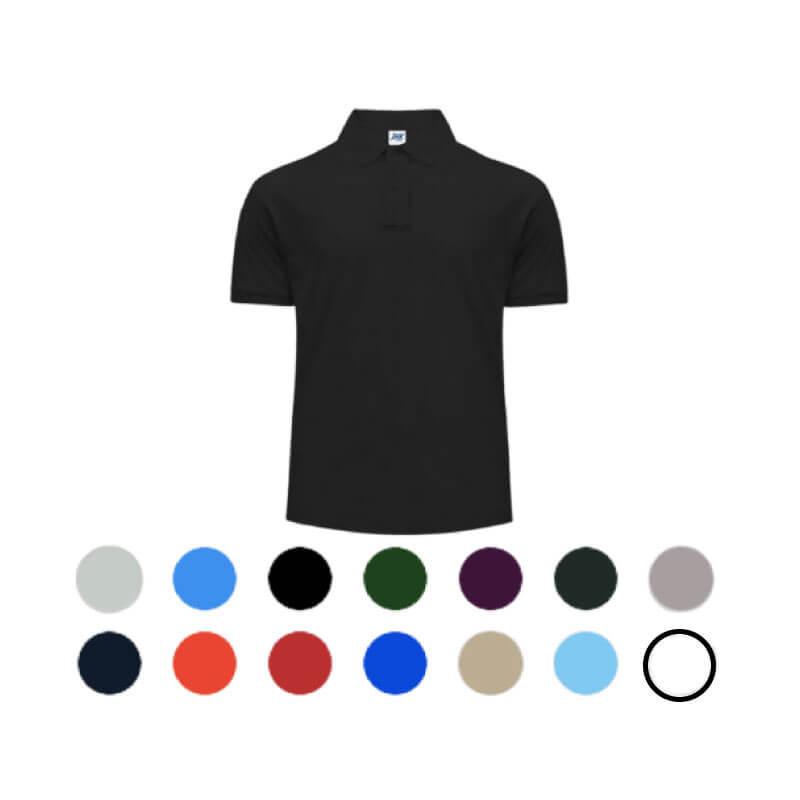 Polo de travail JHK 210 | Tenue de travail idéale pour personnalisation