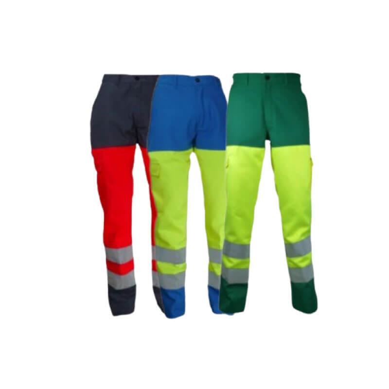 Pantalon de travail haute visibilité VISION II PBV | Pantalon multipoche