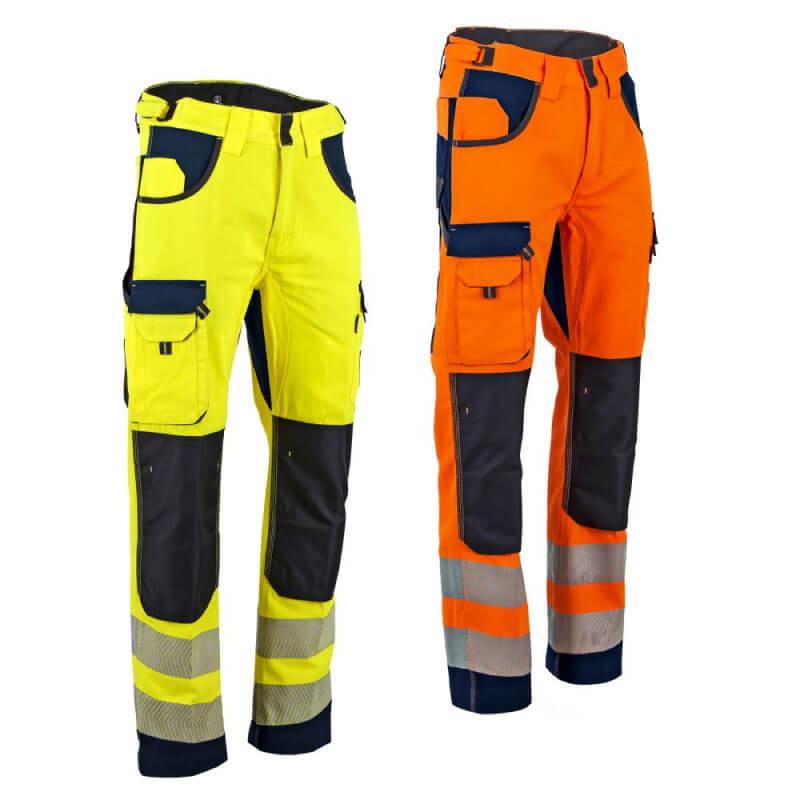 Pantalon de travail haute visibilité DEFENSE / POLARISATION LMA | Pantalon multipoche