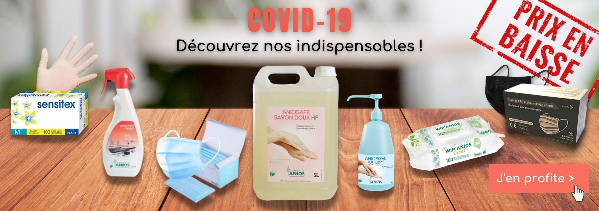 La désinfection et l'hygiène est devenue une évidence depuis l'épidémie du coronavirus